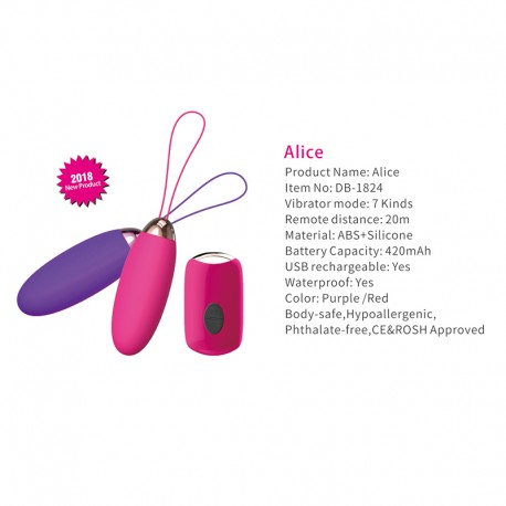 HEARTLEY Alice Hotselling Tiny Female Pleasure Sex Vibrator Toys